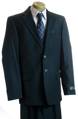Pinstripe Suit by Corneliani in Crazy, Stupid, Love.