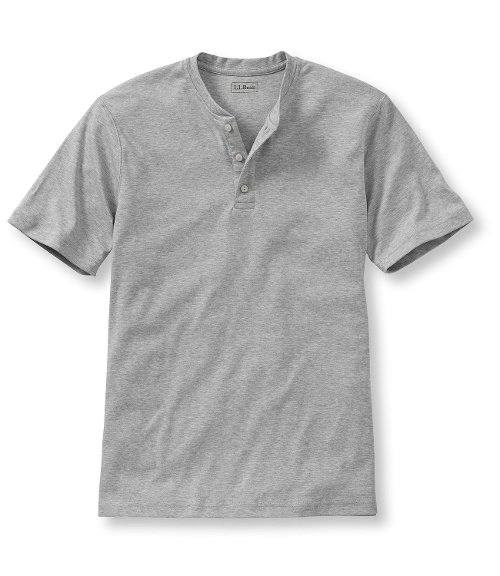 Men's Pima Henley Shirt by L.L.Bean in McFarland, USA