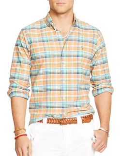 Checked Oxford Shirt by Ralph Lauren in The Big Bang Theory