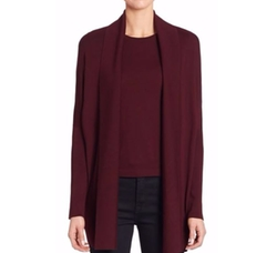 Open-Front Wool Cardigan by Ralph Lauren Collection in Fuller House