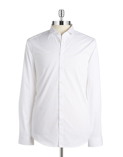 Slim Fit Solid Sportshirt by Tiger Of Sweden in Point Break