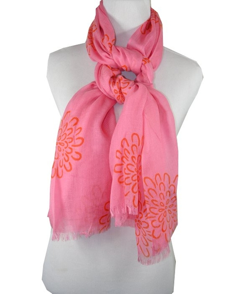 Hot & Sour Collection Mums Scarf by Pür by Pür Cashmere in Daddy's Home