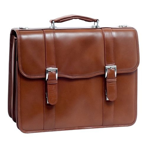 Flournoy Laptop Briefcase by McKlein in The Program