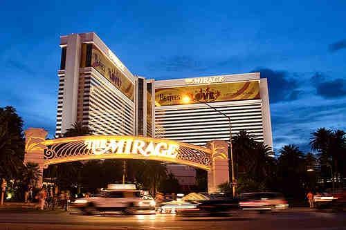 The Mirage Las Vegas, Nevada in Godzilla