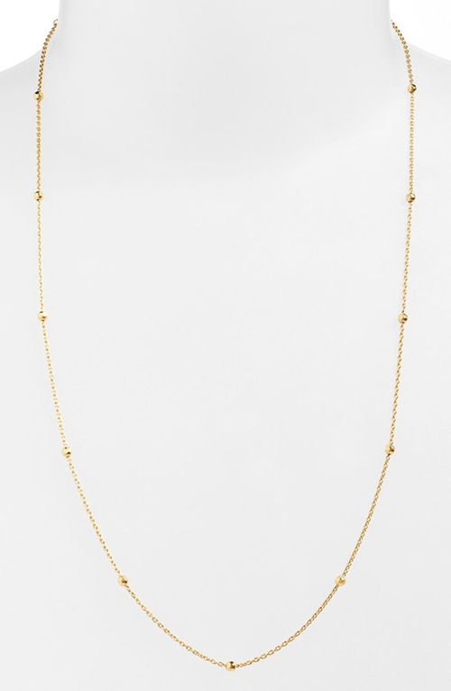 Long Station Necklace by Argento Vivo in Ride Along 2
