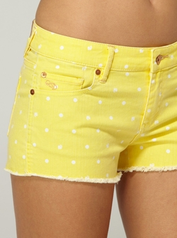 Lamrocks Yellow Swan Shorts by Quicksilver in Spring Breakers