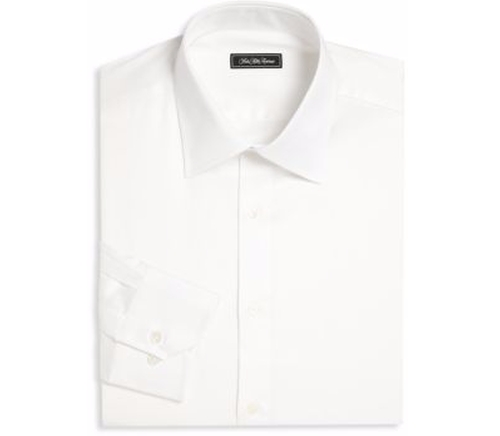 Regular-Fit Dress Shirt by Saks Fifth Avenue Collection in The Bourne Legacy