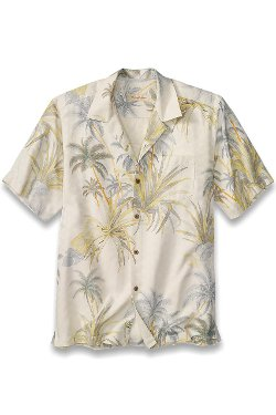 Serenity Palms Camp Shirt by Tommy Bahama in The Gunman