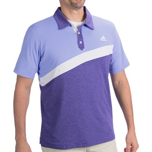 Golf ClimaLite Angular Color-Blocked Polo Shirt by Adidas in Horrible Bosses 2