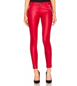 Lucy Leather Pants by RtA in Empire