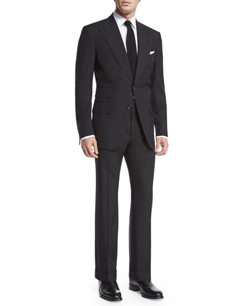 Windsor Base Peak-Lapel Two-Piece Suit by Tom Ford in Suits - Season 6 Episode 10