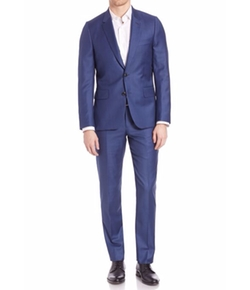 Tailored-Fit Two-Buttoned Suit by Paul Smith in Scream Queens