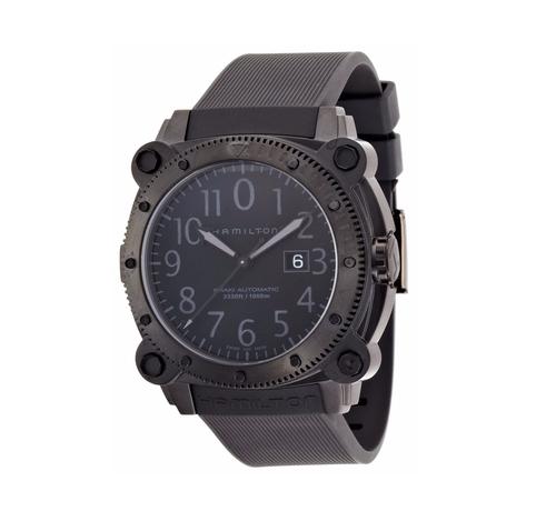 Below Zero Black Dial Watch by Hamilton in Central Intelligence