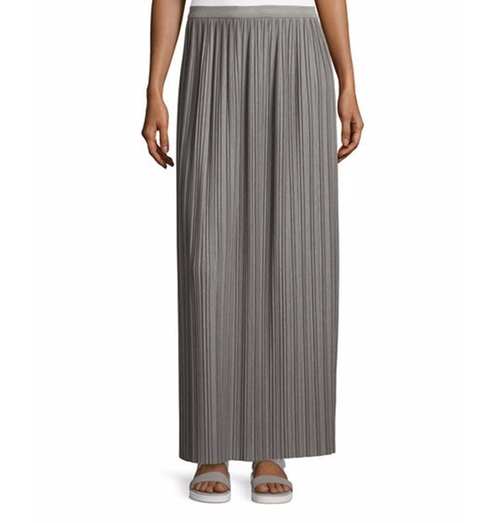 Drapey Tee Pleated Maxi Skirt by Theory in Animal Kingdom - Season 1 Episode 9