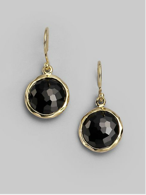 Mini Drop Earrings by Ippolita in Survivor