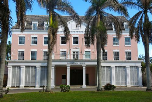 The Ansbacher House (Depicted as Royal Bahamas National Bank) Nassau, Bahamas in The Other Woman