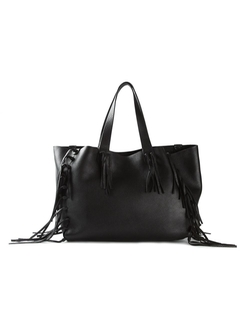 Fringed Tote Bag by Valentino Garavani in Jessica Jones