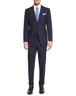O'Connor Base Plain-Weave Sharkskin Two-Piece Suit by Tom Ford in Suits