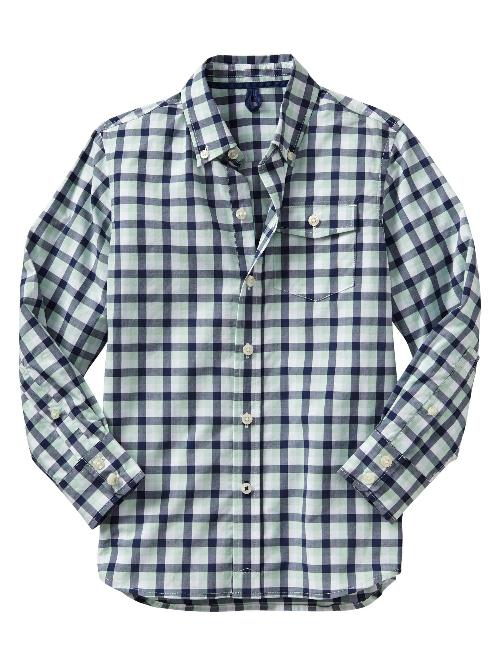 Checkered shirt by Gap Kids in Oculus