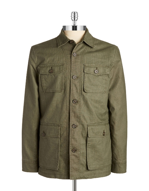 Lightweight Military Jacket by Black Brown 1826 in Fantastic Four