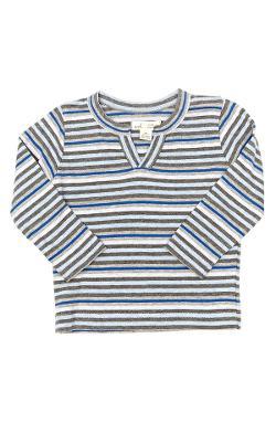 Alphie Stripe Henley T-Shirt by Peek in Let's Be Cops