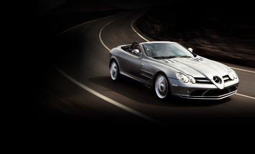 SLR McLaren Roadster by Mercedes-Benz in Need for Speed