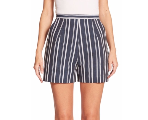 Lupo Striped Shorts by Stella Jean in Mr. Robot