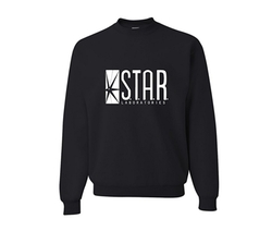 Star Labs Sweatshirt by Go All Out Screenprinting in The Flash