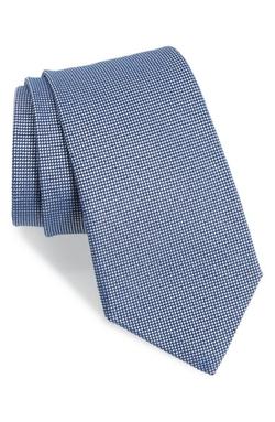 Textured Cotton & Silk Blend Tie by Gitman in Suits