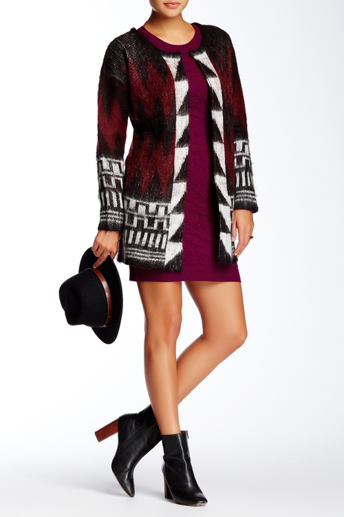 Printed Cardigan by Romeo & Juliet Couture in The Ranch -  Looks