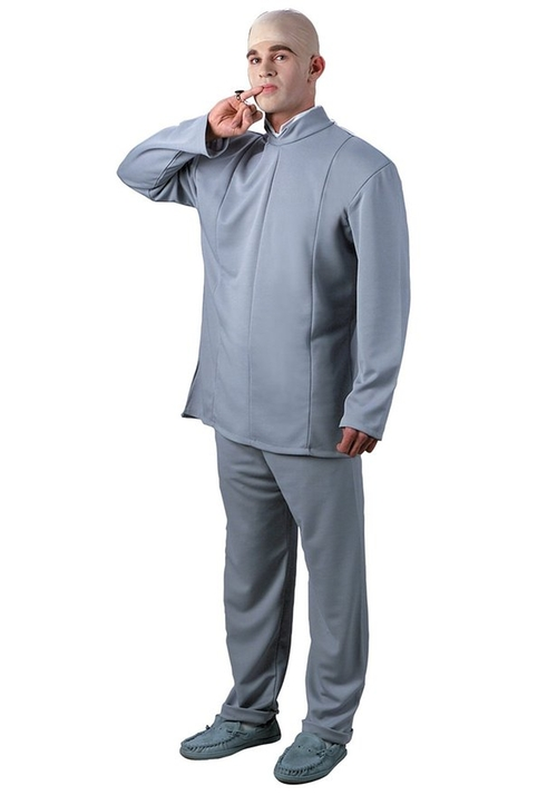 Poly-Blend Deluxe Dr. Evil Costume by WMU in Austin Powers in Goldmember