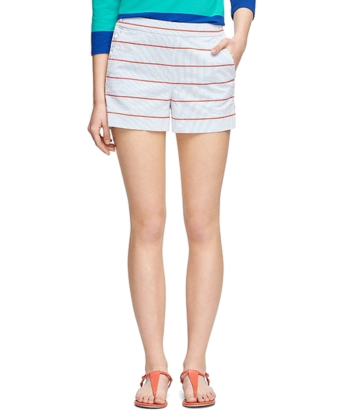 Sailor Shorts by Brooks Brothers in Scream Queens - Season 1 Episode 7