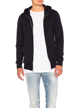 Flash Dual Full Zip Hoodie by John Elliott in New Girl