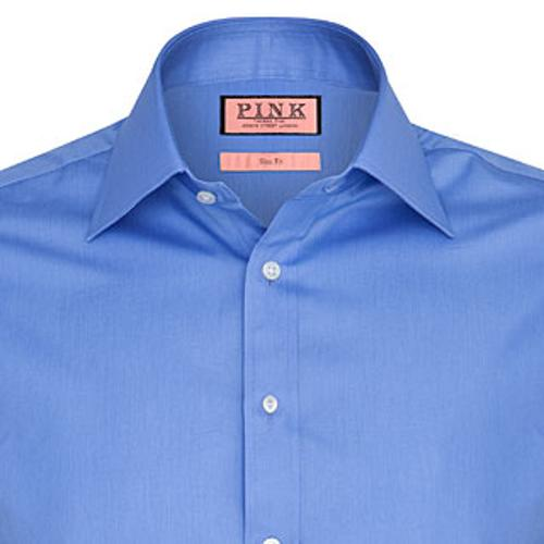 Plain Shirt - Double Cuff by Westwick in Lucy