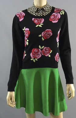 Floral Sweater by H&M in Me Before You