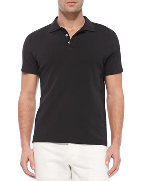 Boyd.Census Short-Sleeve Polo by Theory in Contraband