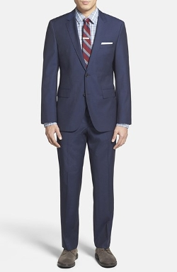 Trim Fit Wool Suit by Boss Hugo Boss in Terminator: Genisys