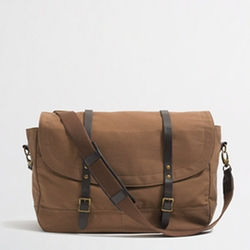 FACTORY CARSON MESSENGER BAG by J. Crew in Blended