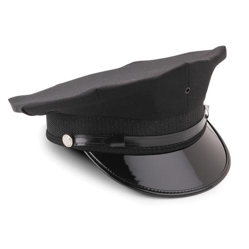 8-Point Polyester Duty Cap by Midway Cap Co. in Unbroken