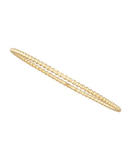 Swing Yellow Gold Bead Bangle by Forevermark in Transcendence