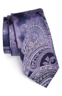 Woven Silk Tie by John W. Nordstrom in The Wolf of Wall Street