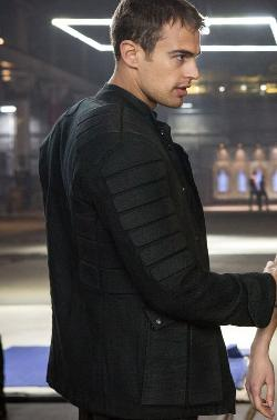 Custom Made Four 'Dauntless' Jacket by Carlo Poggioli (Costume Designer) in Divergent