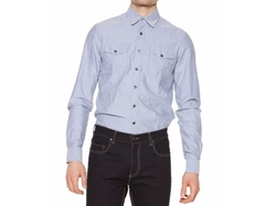 Salt-Wash Long-Sleeve Shirt by Tomas Maier in American Made