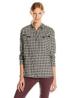 Flannel Checked Shirt by Maison Scotch in The Longest Ride