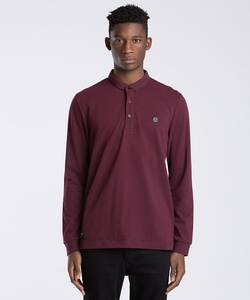 Long Sleeve Polo Shirt by Marshall Artist in Arrow