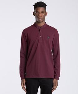 Long Sleeve Polo Shirt by Marshall Artist in Arrow
