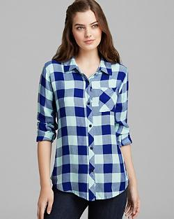 One Pocket Plaid by Rails Shirt in Jupiter Ascending