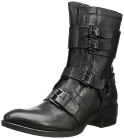Lawton Motorcycle Boots by Kenneth Cole New York in Barely Lethal