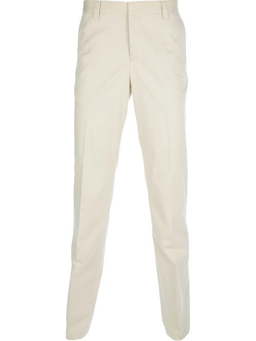 straight leg chino by EMPORIO ARMANI in The Wolf of Wall Street