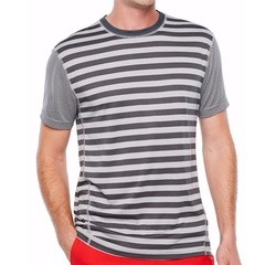 Jersey Crew Neck T-Shirt by Msx By Michael Strahan in Love, Simon